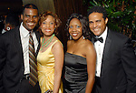 Victor and Lynell Wright with Rikiya Thomas and Michael Floissac at the Houston Area's Urban League Equal Opportunity Day Gala at the Hilton Americas Houston Saturday night June 20, 2009.(Dave Rossman/For the Chronicle)