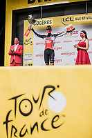 most combative rider Brent Van Moer (BEL/Lotto Soudal)<br /> <br /> Stage 4 from Redon to Fougéres (150.4km)<br /> 108th Tour de France 2021 (2.UWT)<br /> <br /> ©kramon