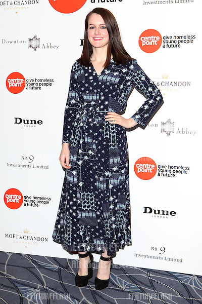Sophie McShera arriving for the Downton Abbey Ball, The Savoy, London.  30/04/2015 Picture by: Alexandra Glen / Featureflash