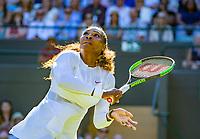 London, England, 2 th July, 2018, Tennis,  Wimbledon,  Serena Williams (USA)<br /> Photo: Henk Koster/tennisimages.com