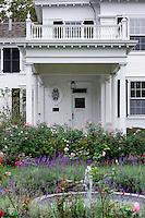 Dr. Daniel Fisher House, Edgartown, Martha's Vineyard, Massachusetts, USA.c 1840