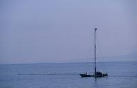 Europe/Italie/Calabre/Baganara : Départ pour la pêche à l'espadon