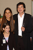 FORT LAUDERDALE FL - MAY 08: Jimmy Page and his wife Jimena Gomez-Paratcha Page attend the Brazilian children's charity event held at the Fort Lauderdale Marriott on May 8, 2002 in Fort Lauderdale, Florida. : Credit Larry Marano © 2002