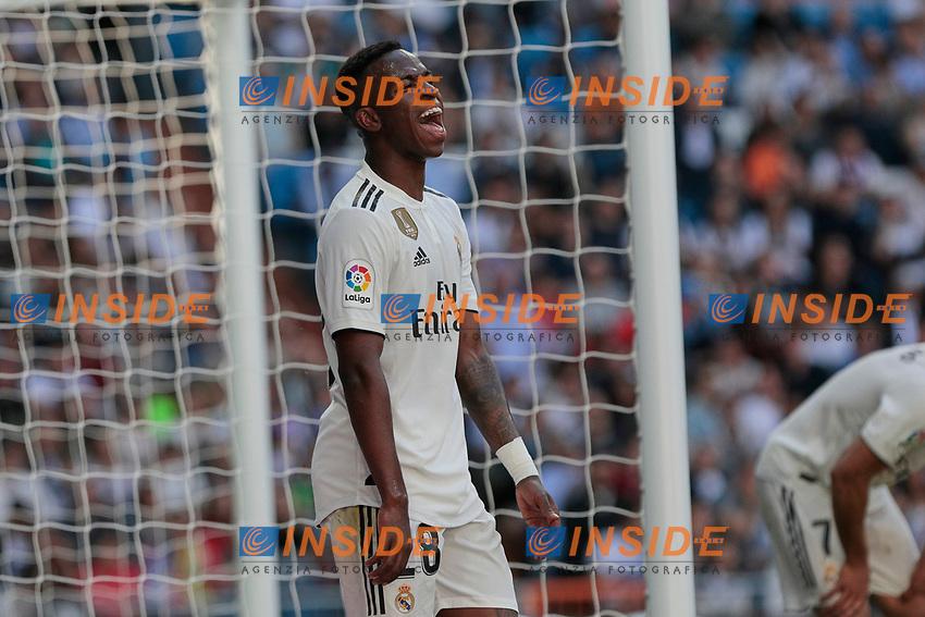 Real Madrid's Vinicius Jr. during La Liga match between Real Madrid and Villarreal CF at Santiago Bernabeu Stadium in Madrid, Spain. May 05, 2019. (ALTERPHOTOS/A. Perez Meca)<br /> Liga Campionato Spagna 2018/2019<br /> Foto Alterphotos / Insidefoto <br /> ITALY ONLY