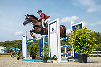AUT-Rebecca Gerold rides Shannon Queen during the Showjumping for the CCIO4*-S FEI Nations Cup Eventing. 2021 BEL-Concours Complet Arville. Saturday 21 August 2021. Copyright Photo: Libby Law Photography