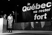 Re-election du PQ, 13 avril 1981<br /> <br /> PHOTO : agence quebec presse