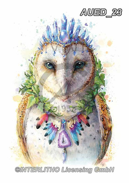 Carlie, REALISTIC ANIMALS, REALISTISCHE TIERE, ANIMALES REALISTICOS, paintings+++++Owl-Spirit-Animal,AUED23,#A#, EVERYDAY ,fantasy