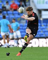 12th September 2021; Cbus Super Stadium, Robina, Queensland, Australia; Rugby International series, New Zealand versus Argentina:  Jordie Barrett during warm up session
