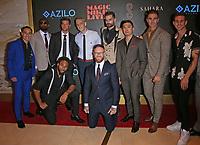 25 September 2021 - Las Vegas, NV - Magic Mike Cast.  Red Carpet Celebrating Grand Opening of Magic Mike Live at Sahara Las Vegas. Photo Credit: mjt/AdMedia