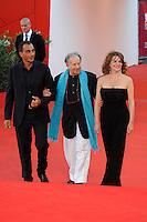 Tinto BRASS (C), Caterina VALSI (R).Venezia / Venice 1/9/2010 67ma Mostra del Cinema.Red Carpet Serata Inaugurale.Foto Stefano Micozzi/Insidefoto