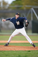 February 22, 2009:  Pitcher Dutin Galbraith (13) of West Virginia University during the Big East-Big Ten Challenge at Naimoli Complex in St. Petersburg, FL.  Photo by:  Mike Janes/Four Seam Images