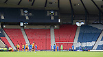 Motherwell v St Johnstone.....16.04.11  Scottish Cup Semi-Final.An empty Hampden Park.Picture by Graeme Hart..Copyright Perthshire Picture Agency.Tel: 01738 623350  Mobile: 07990 594431
