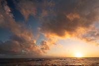 Clouds over Poipu, Kauai, Hawaii.