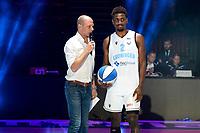 GRONINGEN - Basketbal , Open Dag met Donar - Antwerp Giants , voorbereiding seizoen 2021-2022, 05-09-2021,  Donar speler Donte Ingram