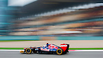 Scuderia Toro Rosso driver Daniel Ricciardo of Australia speeds his car during the UBS Chinese F1 Grand Prix at Shanghai International circuit April 13, 2012. Photo by Victor Fraile