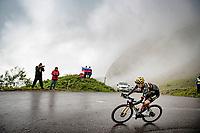 Steven Kruijswijk (NED/Jumbo-Visma) descending the Col de la Colombière (1618 m)<br /> <br /> Stage 8 from Oyonnax to Le Grand-Bornand (151km)<br /> 108th Tour de France 2021 (2.UWT)<br /> <br /> ©kramon