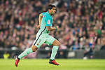 Luis Suarez of FC Barcelona in action during their Copa del Rey Round of 16 first leg match between Athletic Club and FC Barcelona at San Mames Stadium on 05 January 2017 in Bilbao, Spain. Photo by Victor Fraile / Power Sport Images