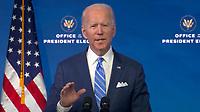 "JAN 14 Joe Biden speaks on ""the Public Health and Economic Crises"""