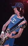 Tom Scholz of Boston performing live at The Forum in Los Angeles , Ca July 1987