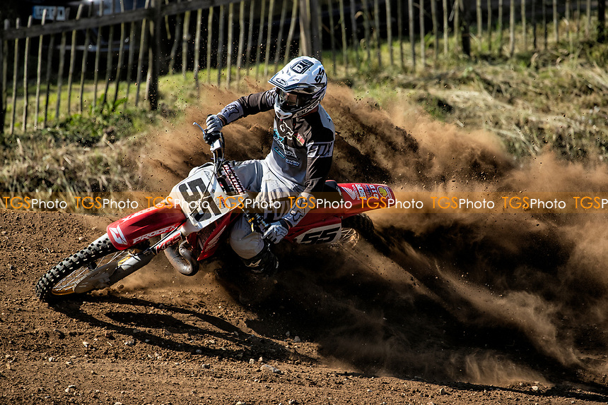 Steve Bixby in action (South Eastern EVO) during the Richard Fitch Memorial Trophy Motocross at Wakes Colne MX Circuit on 18th July 2021