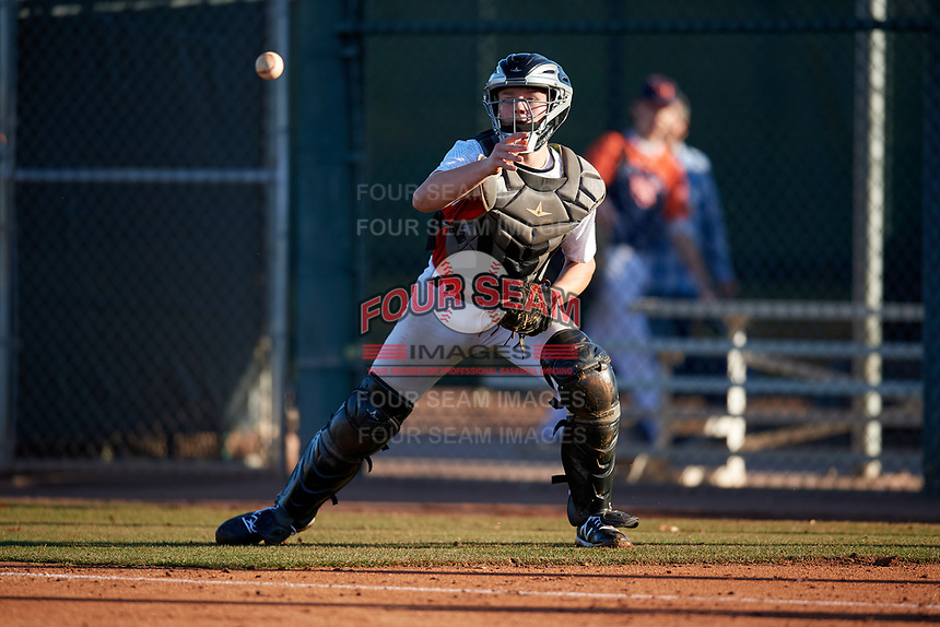 Mac McCommons during the Under Armour All-America Tournament powered by Baseball Factory on January 18, 2020 at Sloan Park in Mesa, Arizona.  (Mike Janes/Four Seam Images)