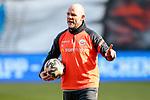 20.02.2021, xtgx, Fussball 3. Liga, FC Hansa Rostock - SV Waldhof Mannheim, v.l. Ronny Thielemann (Rostock Co Trainer) gibt Anweisungen, gestikuliert mit den Armen, gesticulate, gives instructions <br /> <br /> (DFL/DFB REGULATIONS PROHIBIT ANY USE OF PHOTOGRAPHS as IMAGE SEQUENCES and/or QUASI-VIDEO)<br /> <br /> Foto © PIX-Sportfotos *** Foto ist honorarpflichtig! *** Auf Anfrage in hoeherer Qualitaet/Aufloesung. Belegexemplar erbeten. Veroeffentlichung ausschliesslich fuer journalistisch-publizistische Zwecke. For editorial use only.