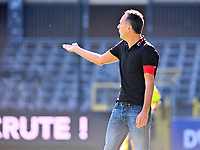 Head Coach Stephane Guidi of Standard pictured during a female soccer game between RSC Anderlecht Dames and Standard Femina de Liege on the sixth matchday of the 2021 - 2022 season of Belgian Womens Super League , saturday 9 th of October 2021  in Brussels , Belgium . PHOTO SPORTPIX   DAVID CATRY