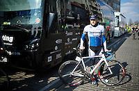 Gerald Ciolek (DEU/Stölting) before the start <br /> <br /> 71st Nokere Koerse