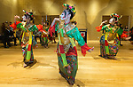 21 March 2016, Jakarta, Indonesia:  Indonesian traditional dance at the opening of the new Australian Embassy in Jakarta. The function included traditional welcomes, dancing and speeches from Australian and Indonesian guests. Picture by  Graham Crouch/DFAT