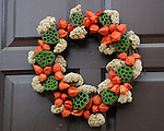 """Holiday wreath Colonial Williamsburg Virginia,wreath, Colonial Williamsburg Virginia is historic district 1699 to 1780 which made colonial Virgnia's Capital, for most of the 18th century Williamsburg was the center of government education and culture in Colony of Virginia, George Washington, Thomas Jefferson, Patrick Henry, James Monroe, James Madison, George Wythe, Peyton Randolph, and others molded democracy in the Commonwealth of Virginia and the United States, Motto of Colonial Williamsburg is """"The furture may learn from the past,"""""""