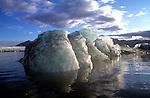 Jokulsarlon Glacier Melting, Glacier Lagoon, Iceland