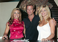 ARCHIVE: LAS VEGAS, NV. July 11, 1997: Baywatch stars CARMEN ELECTRA, DAVID CHOKACHI & DONNA D'ERRICO at the Video Software Dealers Assoc. convention in Las Vegas.<br /> File photo © Paul Smith/Featureflash