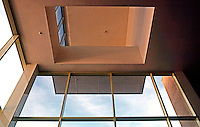 Frank Gehry: Frances Howard Goldwyn Hollywood Regional Library. Box clerestory North side. (Not'g Admin. Bldg. U.C. Irvine. (Photo '86)