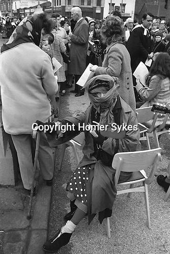 Good Friday prayer meeting, Hebden Bridge, Yorkshire UK  1974