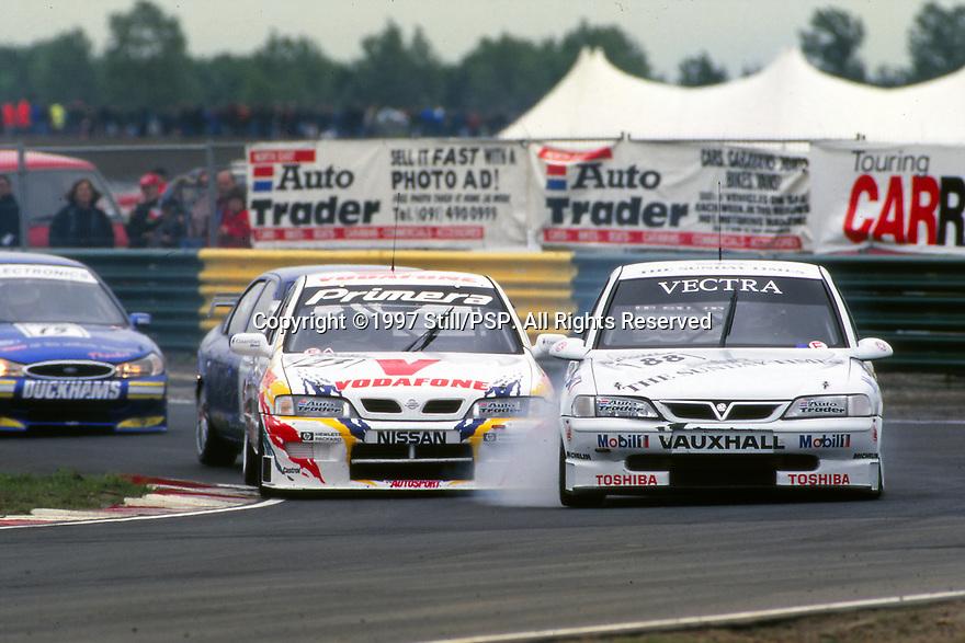 1997 British Touring Car Championship. #88 Derek Warwick (GBR). Vauxhall Sport. Vauxhall Vectra. #23 Anthony Reid (GBR). Vodafone Nissan Racing. Nissan Primera.
