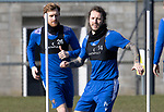 St Johnstone Training...19.03.21<br />StevieMay and Liam Craig pictured during training at McDiarmid Park ahead of tomorrows game against Ross County.<br />Picture by Graeme Hart.<br />Copyright Perthshire Picture Agency<br />Tel: 01738 623350  Mobile: 07990 594431