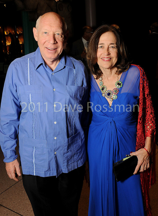 Andrea and Bill White at the Ole! A Night in Old Mexico Gala at the Museum of Natural Science Saturday March 05,2016.(Dave Rossman Photo)