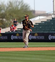 Breyvic Valera - San Diego Padres 2020 spring training (Bill Mitchell)