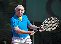 Etten-Leur, The Netherlands, August 23, 2016,  TC Etten, NVK, Hans van Hout (NED)  80+<br /> Photo: Tennisimages/Henk Koster
