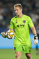 CARSON, CA - SEPTEMBER 15: Tim Melia #29 of Sporting Kansas City during a game between Sporting Kansas City and Los Angeles Galaxy at Dignity Health Sports Complex on September 15, 2019 in Carson, California.