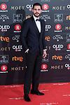 Miguel Diosdado attends red carpet of Goya Cinema Awards 2018 at Madrid Marriott Auditorium in Madrid , Spain. February 03, 2018. (ALTERPHOTOS/Borja B.Hojas)