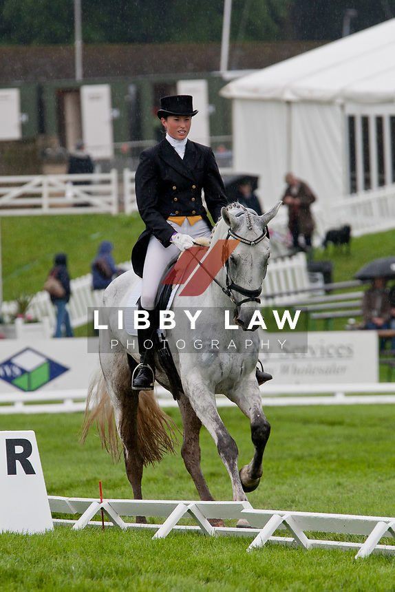 AUS-Emma Dougall (KELECYN ICE AGE)2012 GBR-Equi-Trek Bramham International Horse Trial - Thursday Dressage: CIC*** INTERIM: =23RD