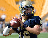 August 30, 2008: Pitt quarterback Tino Sunseri..The Bowling Green Falcons defeated the Pitt Panthers 27-17 on August 30, 2008 at Heinz Field, Pittsburgh, Pennsylvania.