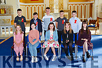Currow NS 2019-20 sixth class who were confirmed in the Church of the Immaculate Conception Currow on Saturday