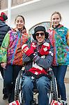 Josh Dueck, Sochi 2014.<br /> Highlights from Canada's Athlete Welcome Ceremony // Faits saillants de la cérémonie d'accueil des athlètes canadiens. 05/03/2014.