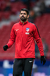 Diego Costa of Atletico de Madrid in training prior to the La Liga 2017-18 match between Atletico de Madrid and Getafe CF at Wanda Metropolitano on January 06 2018 in Madrid, Spain. Photo by Diego Gonzalez / Power Sport Images