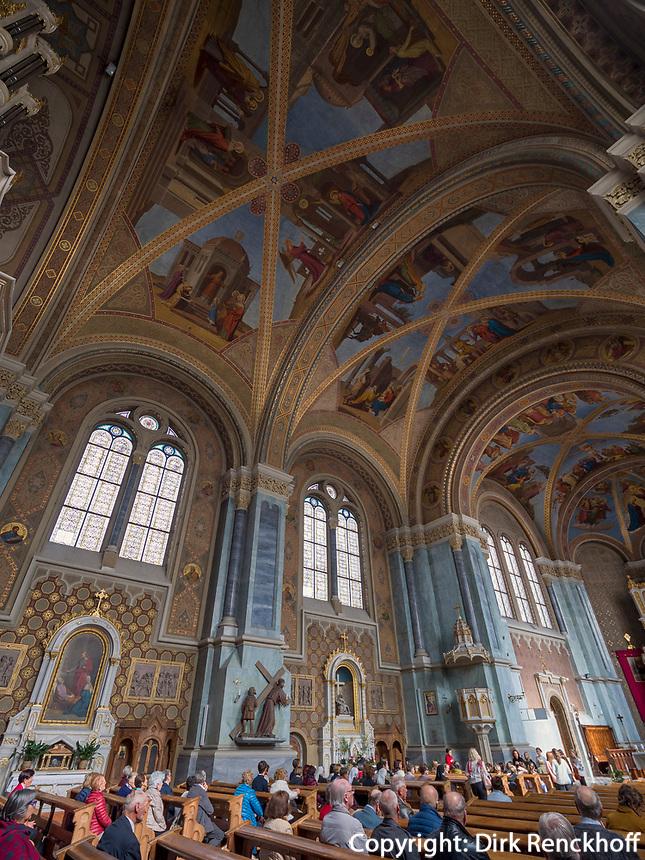 Pfarrkirche in Bruneck, Region Südtirol-Bozen, Italien, Europa<br /> parish church in Bruneck, Region South Tyrol-Bolzano, Italy, Europe