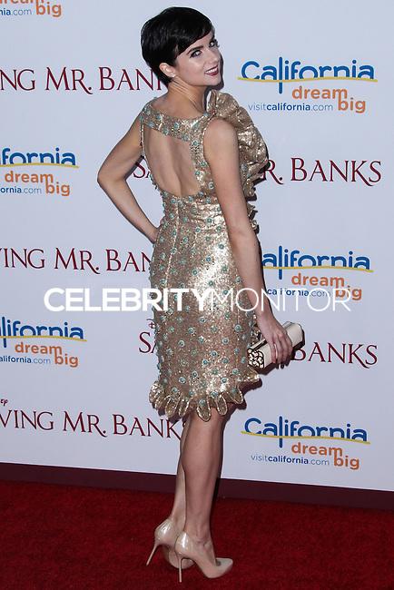 "BURBANK, CA - DECEMBER 09: Actress Victoria Summer arrives at the U.S. Premiere Of Disney's ""Saving Mr. Banks"" held at Walt Disney Studios on December 9, 2013 in Burbank, California. (Photo by Xavier Collin/Celebrity Monitor)"