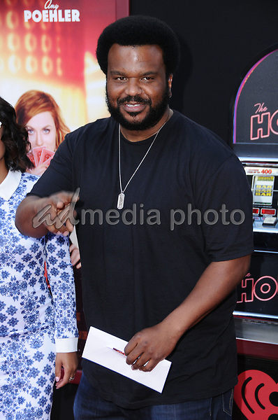 """26 June 2017 - Hollywood, California - Craig Robinson. """"The House"""" Los Angeles Premiere held at the TCL Chinese Theatre in Hollywood. Photo Credit: Birdie Thompson/AdMedia"""