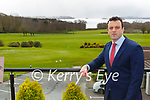 Mark Bowe Castlerosse Park Resort deputy general manager
